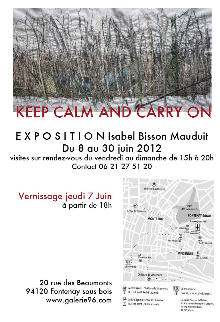 Isabel Bisson Mauduit expo